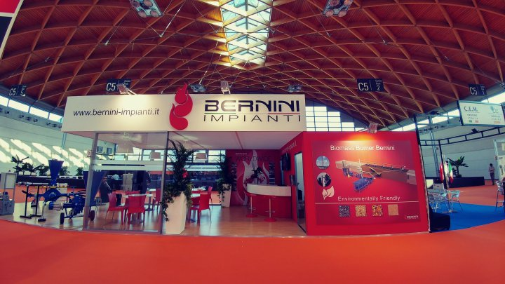 Bernini Impianti Combustion Systems at Tecnargilla 2016