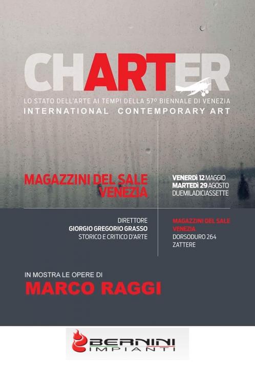 Biennale di Venezia 2017: Marco Raggi